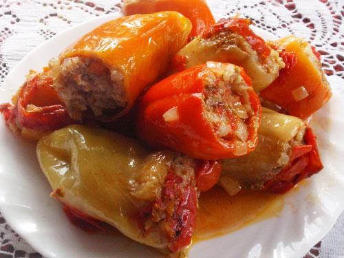Оригинальный рецепт фаршированного перца