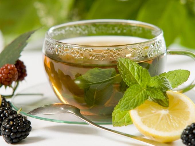 Как приготовить вкусный мятный чай