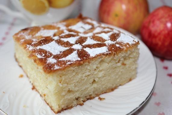 Яблочный манник рецепты