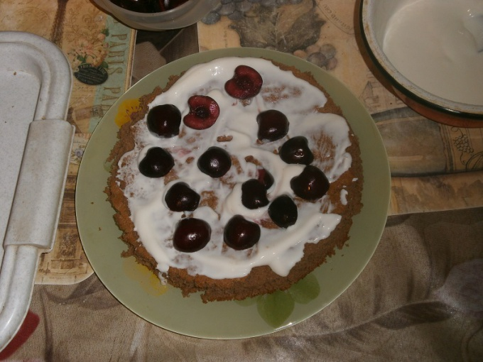 Сборка торта Панчо