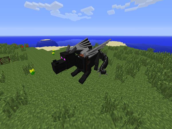 Скачать мод Dragon Mounts для Minecraft 1.6.4