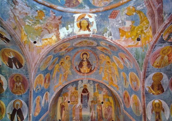 Характерные черты московской школы иконописи