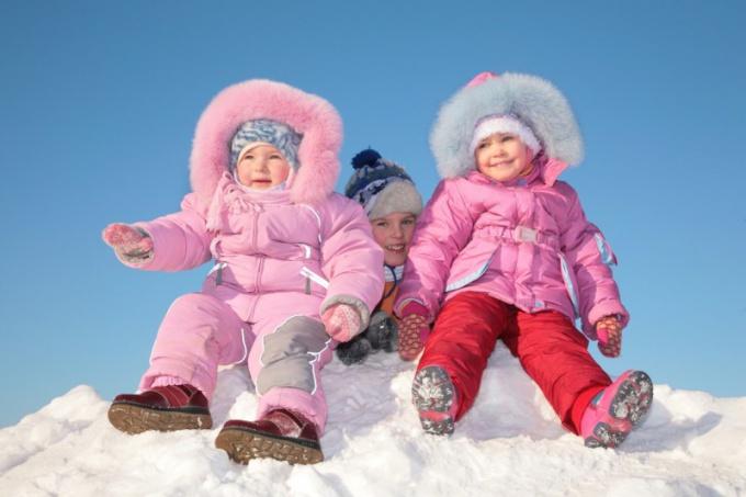 Самые теплые детские зимние костюмы