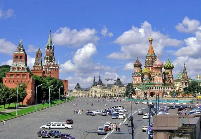 How to reach red square in Moscow