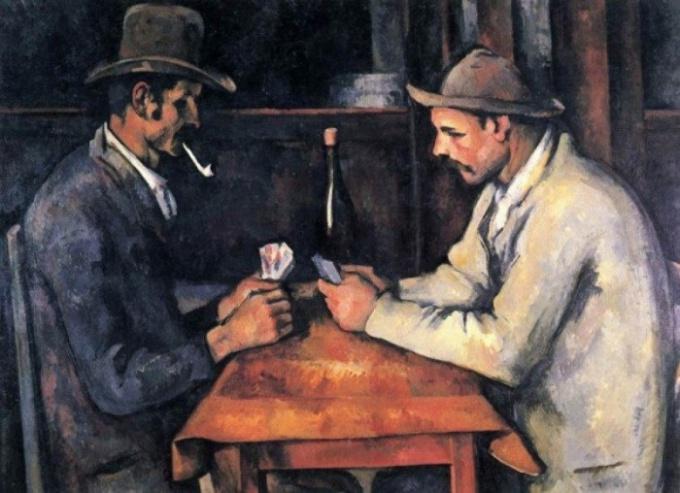 """""""Игроки в карты"""" самая дорогая картина в мире"""