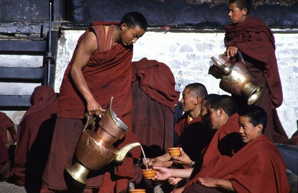 Tibetan tea - one of the secrets of Tibet