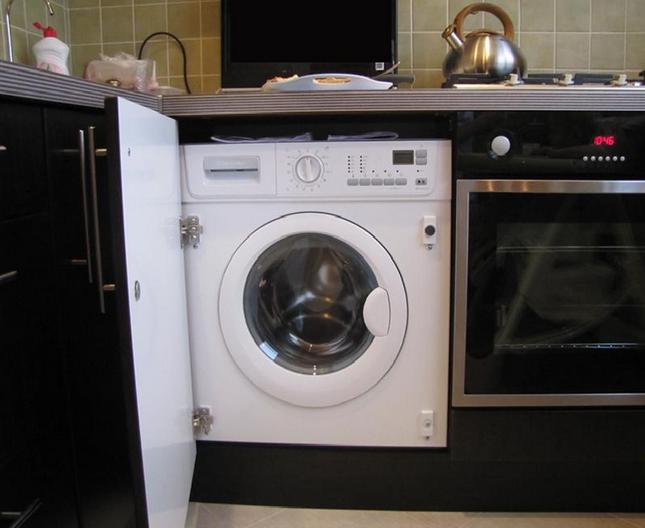 Как установить встроенную стиральную машину своими руками
