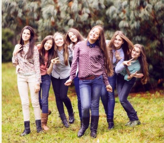 Главное в девичнике подростков - хорошее настроение