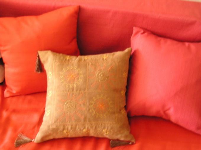 Наперник на подушку из гречки шьется так же, как для перьевой