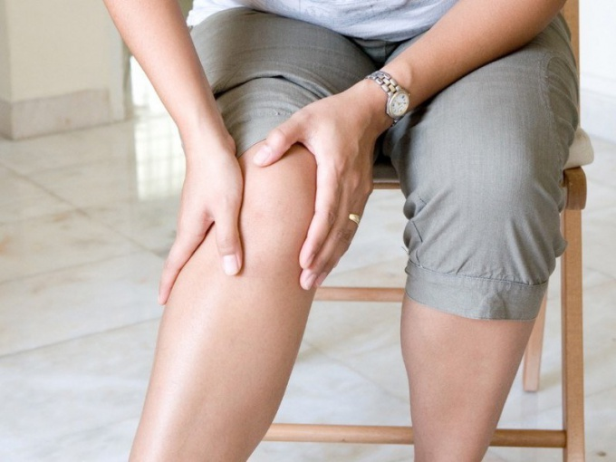 Inflammation of the knee joint
