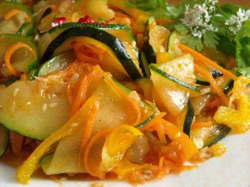 Блюда и заготовки на зиму из кабачков