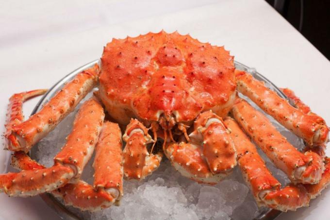 Natural crab meat