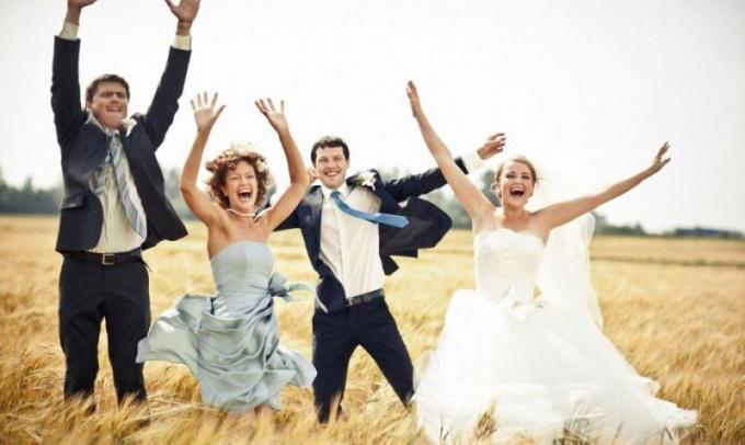 Какие бывают конкурсы на свадьбе для свидетелей