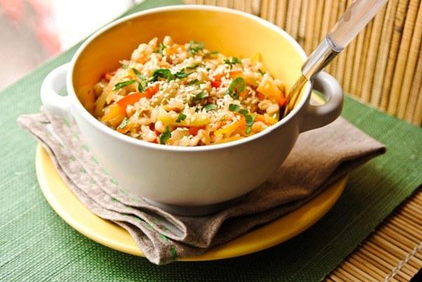 Перловка с овощами - вкусное и полезное блюдо