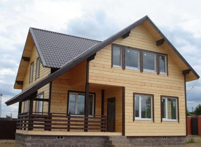 КАркасный дом недорог, комфортен, эстетически привлекателен