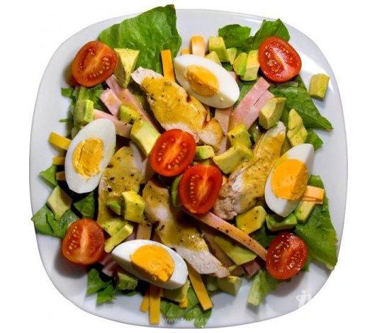 Как приготовить салат Кобб