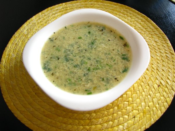 Как приготовить суп «Страчателла»