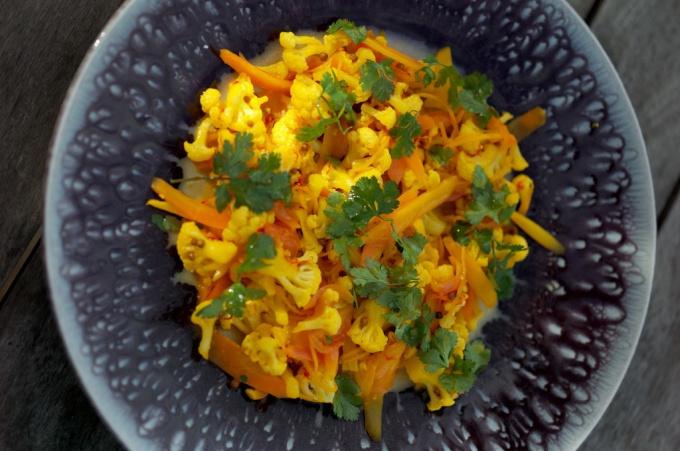 Как приготовить цветную капусту с апельсином