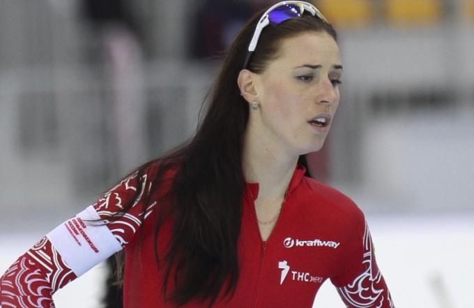 Российская конькобежка Екатерина Лобышева — настоящая Рыба на льду