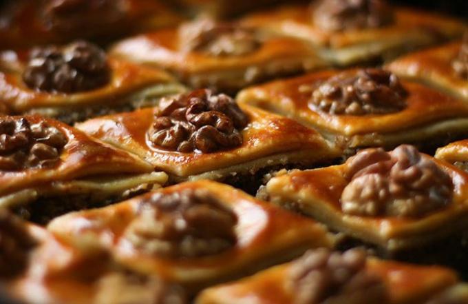 Пахлава азербайджанская: особенности приготовления