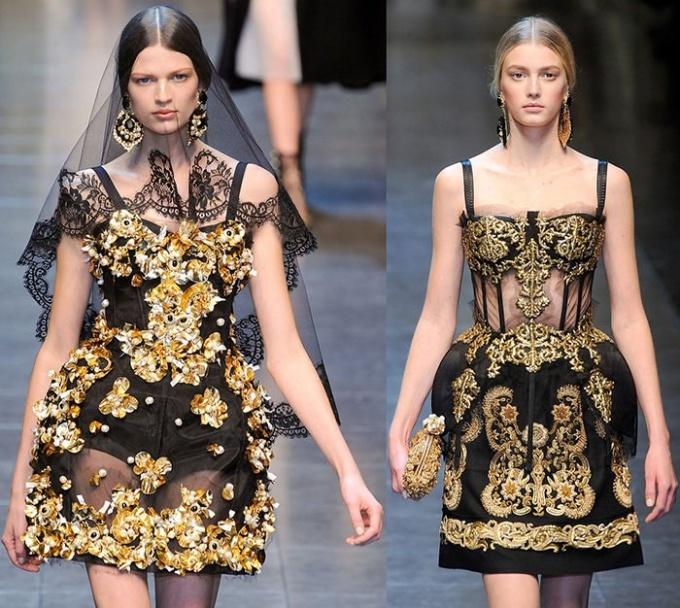 Стиль рококо в одежде