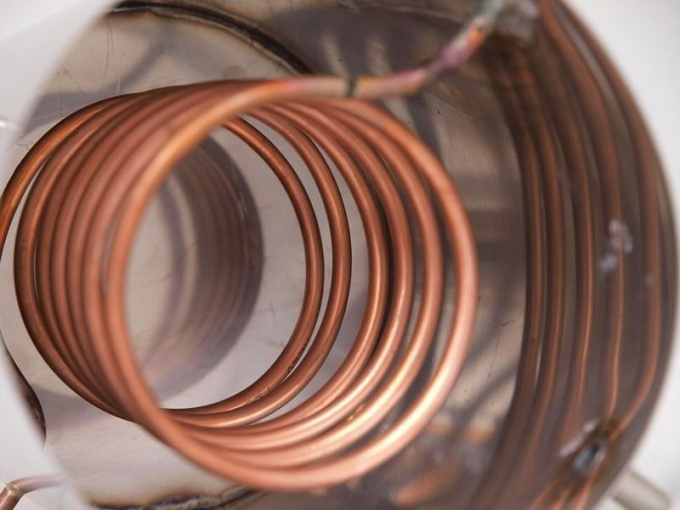 Coil copper for moonshine still