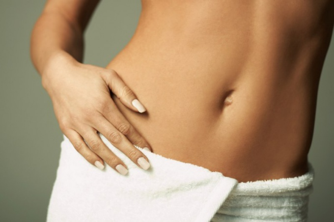 Why a girl can grow hair on her stomach