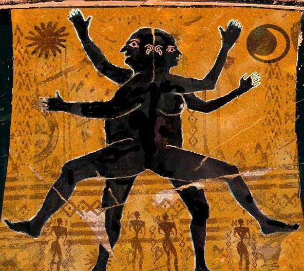 Древнегреческое изображение андрогина