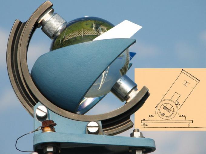 Современный гелиограф. И гелиограф Деларю