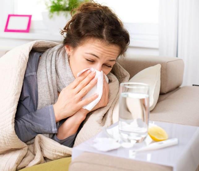 Как симулировать простуду