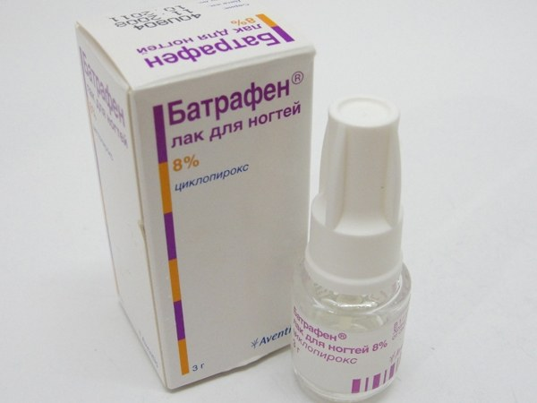 Батрафен лак - эффективный способ в терапии онихомикозов