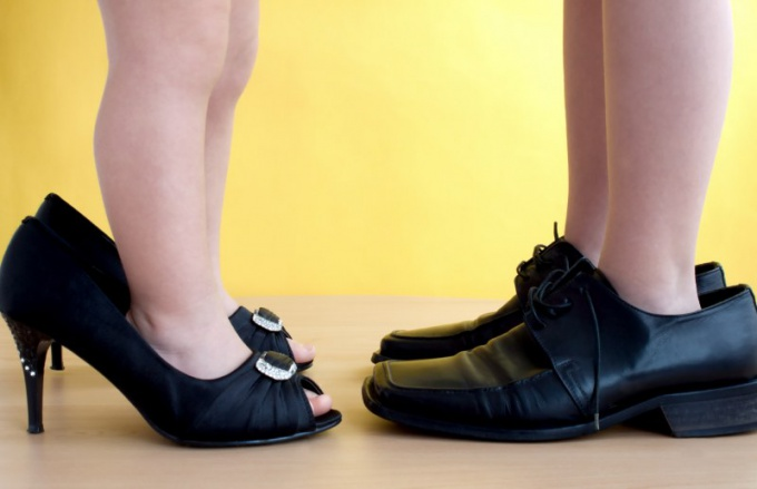 Как правильно измеряется размер ноги