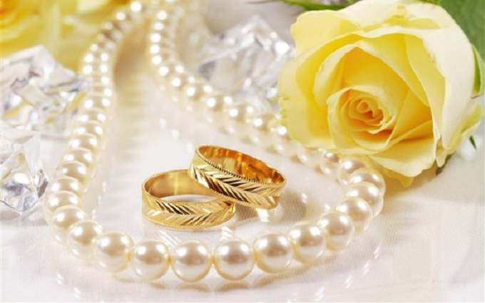 Can I wear a wedding ring, given to parents