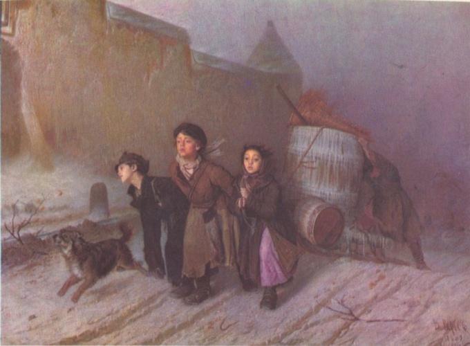 Картина «Тройка» В.Г. Перова: история создания и описание