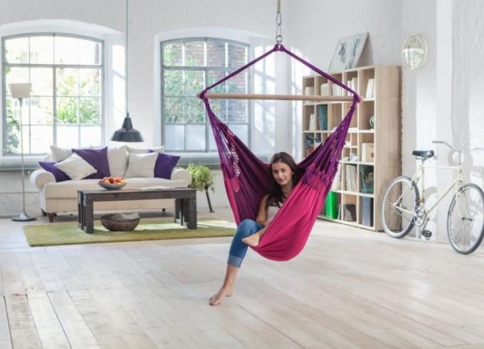 Как сделать гамак в квартире