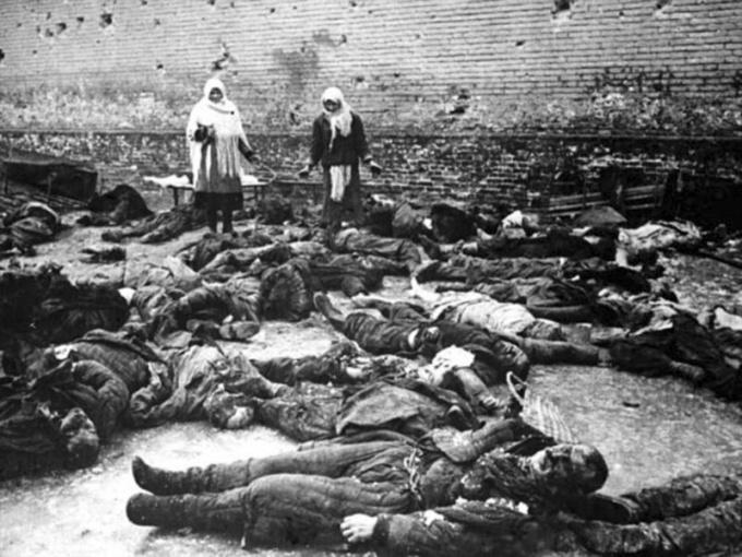 Сколько человек погибло в Великой Отечественной войне