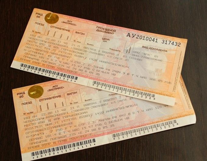 По какому документу можно купить билет на поезд