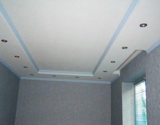 Можно ли на кухне делать потолок из гипсокартона