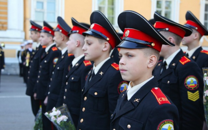 How many years take into Suvorov military school