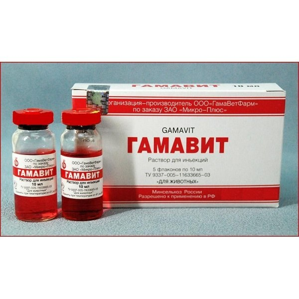 "The drug ""Gamavit"" for cats: how to use?"