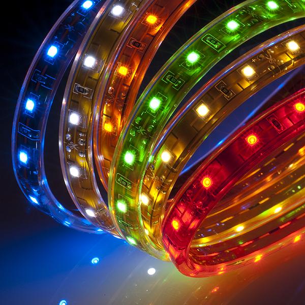 Ленты светодиодные: характеристики, типы