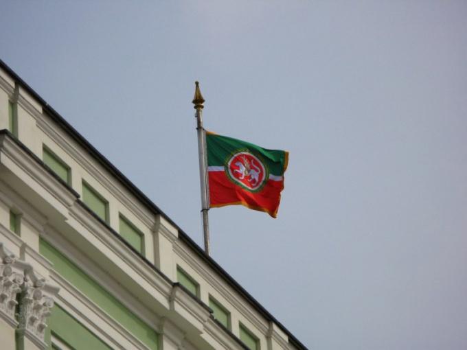 Значение цветов на флаге Татарстана