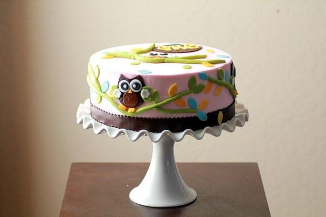 торт с мастикой.