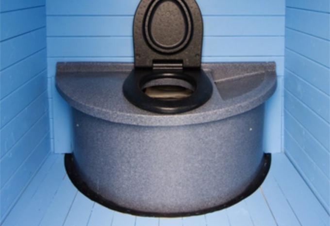 Финский торяной туалет можно выстроить своими руками