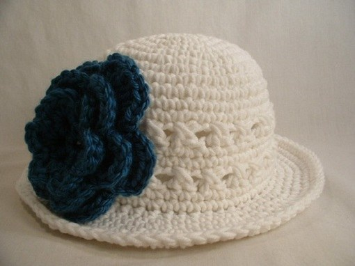 How to knit a summer hat crochet
