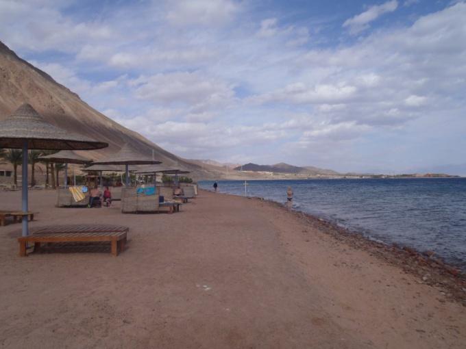 Египетский курорт Таба зимой