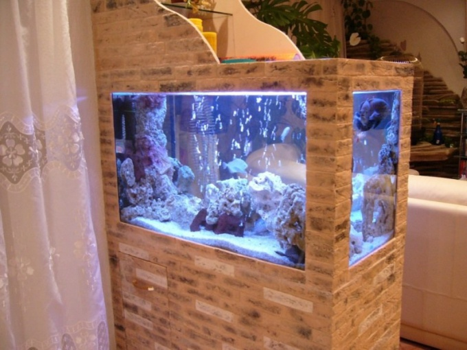 Filter for aquarium with your own hands