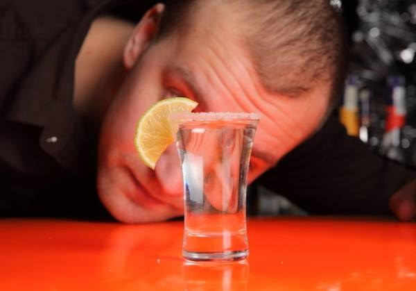 Looks like an alcoholic
