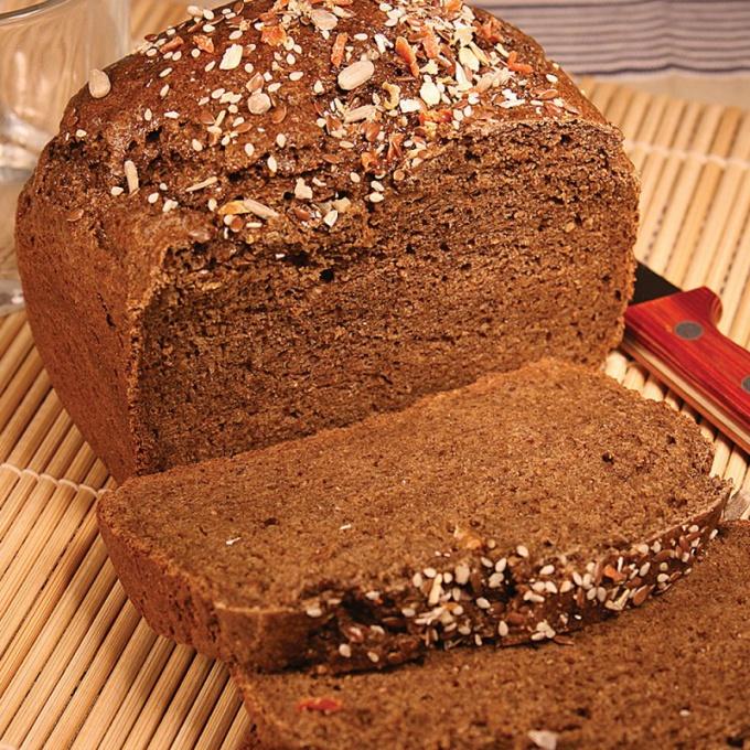 Черный хлеб в домашних условиях