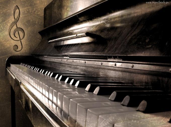 Пианино как музыкальный инструмент